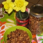 Homemade Chocolate Cherry Granola
