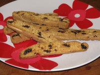 Cherry Almond Biscotti- 67 calories