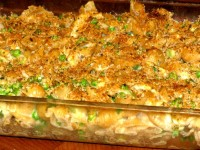 Healthy Chicken Pasta with Baked Macaroni and Cheese