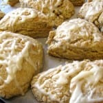 Lavender Orange Scones