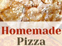 Healthy Homemade Pizza with Fancy Toppings You'll Love