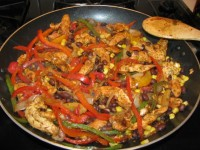 Healthy Chicken Fajitas Served 5 Ways