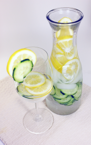 Detox Day Spa Lemon Cucumber Water