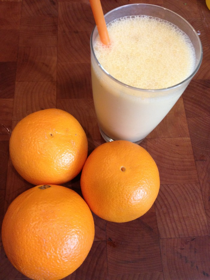 Skinny Orange Dream Smoothie – 129 calories