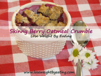 Oatmeal Berry Crumble