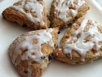 Lavender Lemon Blueberry Scones – 180 calories