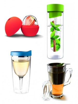 Fruit Infused Water Bottles