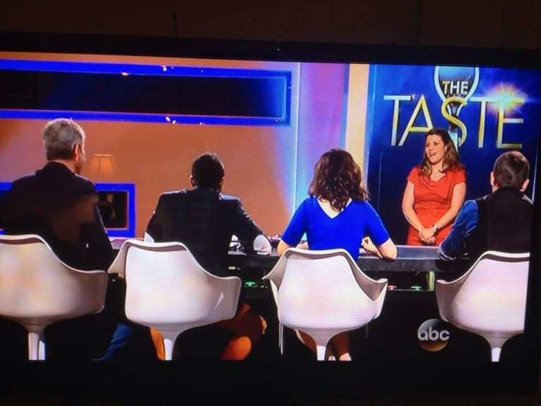 The Taste on ABC from a Contestant's Perspective