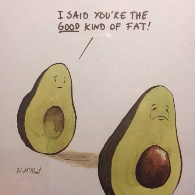 Ha ha ha!! I love this one!! #avocado #goodfat #healthyoptions #healthyeating #myfavoritefood #funny