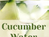 Cucumber Water: The World's Most Popular Detox Drink