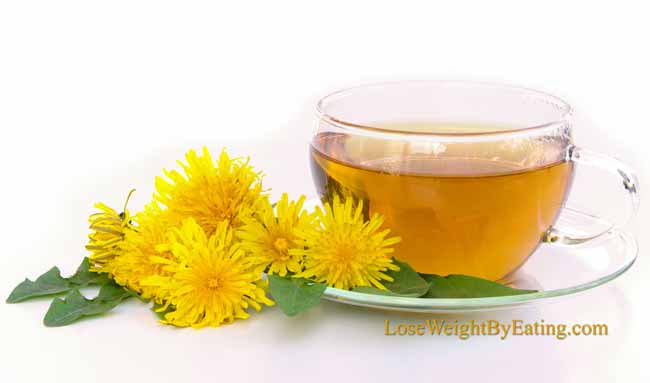 Dandelion Tea Detox Drinks
