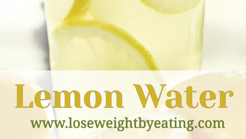 How To Use Water With Lemon For Weight Loss Ehow - Does lemon in water help lose weight