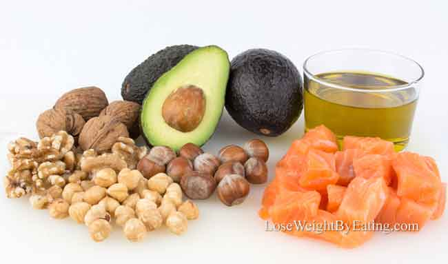 How to lose weight fast healthy fats