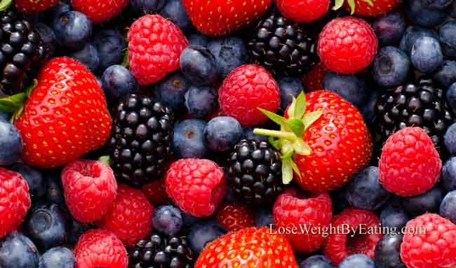 Belly Fat Burning Foods Berries