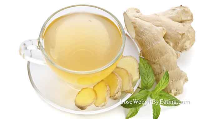 Ginger Tea Detox Drink