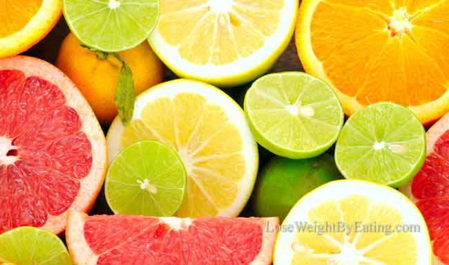 Lose Belly Fat Diet Citrus