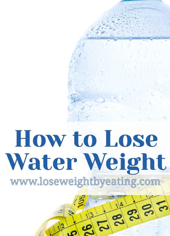 lose weight with water retention