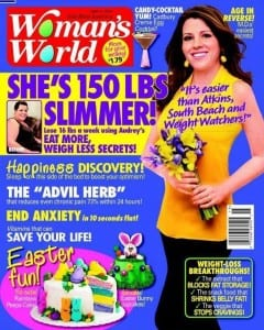 Audrey Johns Womans World Magazine