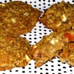 Healthy Peaches and Cream Oatmeal Cookies