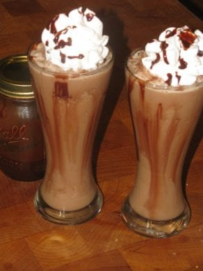 Blended Mocha Cappuccino