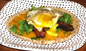Healthy Breakfast Pita