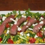 Steak House Salad with Pom Vinaigrette – 429 calories