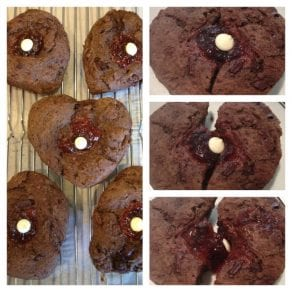 Heart Breaker Chocolate Strawberry Scones