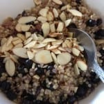 Blueberry Almond Breakfast Quinoa