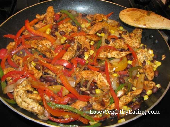 Healthy Chicken Recipes - Chicken Fajitas Recipe