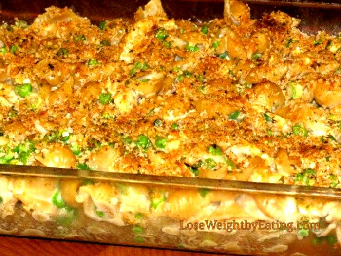 Chicken Mac and Cheese Casserole