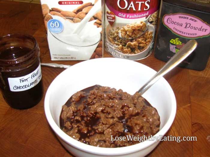 Double Chocolate Oatmeal
